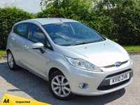 USED 2010 10 FORD FIESTA 1.2 ZETEC 5d * 128 POINT AA INSPECTION * BUILT IN BLUETOOTH HANDSFREE *
