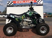 USED 2010 10 DINLI DL801 QUADZILLA 450 LOADS OF EXTRAS, 5000 MILES!!!