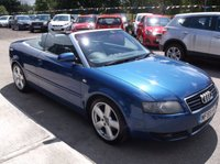 USED 2005 55 AUDI A4 2.5 TDI S LINE 2d AUTO 161 BHP DIESEL / AUTOMATIC, GREAT SPEC, EXCELLENT SERVICE HISTORY, DRIVES SUPERBLY