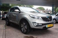 USED 2012 62 KIA SPORTAGE 2.0 CRDI KX-3 AWD SUV 6 SPD FINANCE AVAILABLE | SUPERB RATES | IDEAL FAMILY CAR