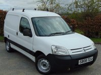 USED 2008 08 CITROEN BERLINGO 1.4 LX 600  * PARROT BLUETOOTH HANDSFREE * LPG CONVERSION *