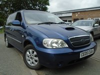 USED 2005 05 KIA SEDONA 2.9 SE CRDI 5d 142 BHP GREAT VALUE DIESEL 7 SEATER