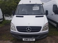 USED 2011 11 MERCEDES-BENZ SPRINTER 2.1 313 CDI LWB 1d 129 BHP 11 PLATE ARCTIC WHITE HIGH ROOF PLY LINED