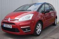2013 CITROEN C4 PICASSO 1.6 PLATINUM EGS E-HDI 5d AUTO 110 BHP £7995.00