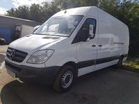 USED 2008 58 MERCEDES-BENZ SPRINTER 2.1 311 CDI LWB 1d 109 BHP 58 PLATE ARCTIC WHITE MEDIUM  WHEEL BASE PLY LINED