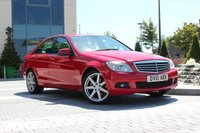 USED 2010 10 MERCEDES-BENZ C CLASS C200 CDI BLUEEFFICIENCY SE 2.1 4d 1 OWNER + CO - FSH - FIRE OPAL