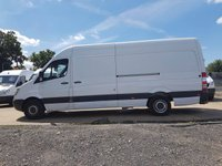 USED 2008 58 MERCEDES-BENZ SPRINTER 2.1 313 CDI LWB H/R 5d 129 BHP 58 PLATE ARCTIC WHITE LONG WHEEL BASE PLY LINED