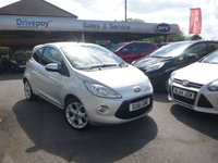USED 2011 61 FORD KA 1.2 METAL 3d 69 BHP
