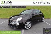 2010 ALFA ROMEO MITO 1.4 TURISMO 16V 3d 95 BHP £SOLD