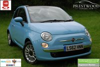 USED 2012 62 FIAT 500C 1.2 LOUNGE [69 BHP] CONVERTIBLE [Start / Stop]
