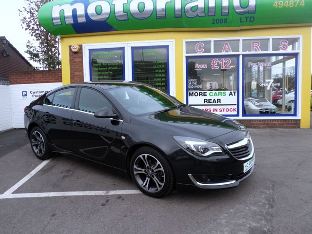 USED 2015 15 VAUXHALL INSIGNIA 2.0 LIMITED EDITION CDTI 5d AUTO 128 BHP LTD  EDITION AUTO