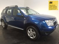 USED 2013 63 DACIA DUSTER 1.5 LAUREATE DCI 5d 107 BHP FSH-VERY LOW MILEAGE-BLUETOOTH-A/C