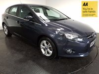 USED 2013 13 FORD FOCUS 1.0 ZETEC 5d 99 BHP FSH-1 OWNER-LOW MILEAGE-BLUETOOTH