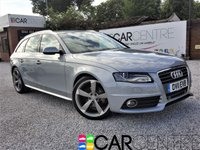 USED 2011 11 AUDI A4 2.0 AVANT TDI S LINE DPF 5d 168 BHP 1 PREVIOUS OWNER FULL AUDI SERVICE