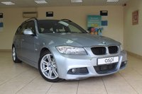 USED 2009 59 BMW 3 SERIES 2.0 320D M SPORT TOURING 5d 175 BHP ESTATE CLIMATE CONTROL, FULL SERVICE HISTORY, BLUETOOTH