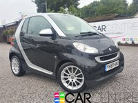 USED 2009 59 SMART FORTWO CABRIO 1.0 PASSION MHD 2d AUTO 71 BHP 2 PREVIOUS OWNERS + FSH