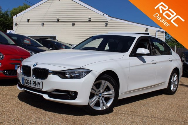 View our 2014 64 BMW 3 SERIES 2.0 318D SPORT 4d 141 BHP