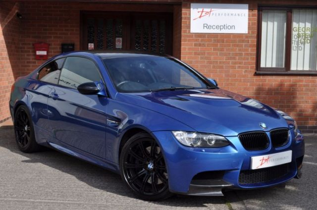 2009 09 BMW M3 4.0 V8 M3 2d 414 BHP MONTE CARLO EDITION DCT