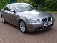 USED 2008 08 BMW 5 SERIES 2.0 520D SE 4d AUTO 175 BHP AUTOMATIC***   LEATHER TRIM***   PARKING SENSORS***  MOT MARCH 2018***   BLUETOOTH