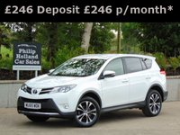 USED 2015 15 TOYOTA RAV4 2.0 D-4D ICON 5d 124 BHP GREAT SPEC, TOUCHSCREEN DAB RADIO, BLUETOOTH, CRUISE CONTROL, REAR CAMERA