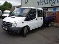 USED 2011 61 FORD TRANSIT 2.4 350 E/F DRW 1d 100 BHP