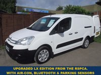 2011 CITROEN BERLINGO 750LX LWB WITH AIR-CON & ELECTRIC PACK FROM THE RSPCA £4295.00