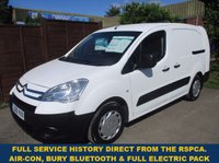 2010 CITROEN BERLINGO 750LX LWB WITH AIR-CON & ELECTRIC PACK FROM THE RSPCA £4000.00