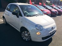 USED 2014 14 FIAT 500 1.2 POP 3d 69 BHP EXCELLENT FUEL ECONOMY!!..LOW CO2 EMISSIONS..LOW ROAD TAX..FULL HISTORY...ONLY 5116 MILES FROM NEW!! ..WITH AUXILLARY/MEDIA AND ELECTRIC WINDOWS!!