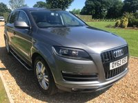 USED 2013 06 AUDI Q7 4.1 TDI QUATTRO SE 5d AUTO 340 BHP HEATED LEATHER, DAB, BLUETOOTH, SATNAV