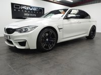 USED 2014 14 BMW M3 3.0 M3 4d AUTO 426 BHP SALOON