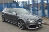 USED 2012 61 AUDI RS3 2.5 TFSI Sportback S Tronic Quattro 5dr +LOW MILES+ONLY 2 OWNERS+