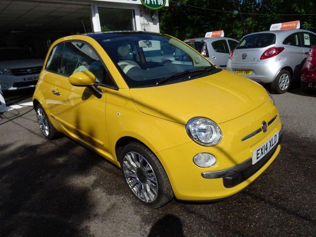 2014 14 FIAT 500 1.2 LOUNGE 3d 69 BHP