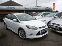 USED 2014 64 FORD FOCUS 1.0 ZETEC S S/S 5d 124 BHP PLEASE CALL TODAY FOR TEST DRIVE ALL CARS AA INSPECTED