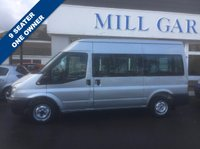2012 FORD TRANSIT 2.2 TDCi 300 M Medium Roof Shuttle Bus 4dr (9 Seat, MWB) £10250.00
