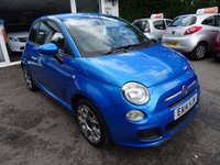 USED 2014 14 FIAT 500 1.2 S 3d 69 BHP Very Low Mileage, Fiat Service History + Just Serviced by ourselves, One Owner from new, NEW MOT (minimum 10 months), Great on fuel! Only £30 Road Tax!