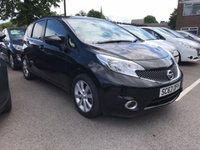 USED 2014 63 NISSAN NOTE 1.5 DCI TEKNA 5d 90 BHP EXCELLENT FUEL ECONOMY!!..LOW CO2 EMISSIONS(95G/KM)!..FULL NISSAN SERVICE HISTORY..ONLY 11758 MILES!!..ALLOY WHEELS!!..HALF LEATHER TRIM!...SATELLITE NAVIGATION SYSTEM!!