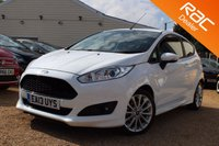 USED 2013 13 FORD FIESTA 1.0 ZETEC S 3d 124 BHP 6 months warranty, Bluetooth & more