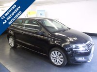 USED 2012 12 VOLKSWAGEN POLO 1.2 MATCH 3d 59 BHP , 1 PREVIOUS KEEPER, FULL VW SERVICE HISTORY