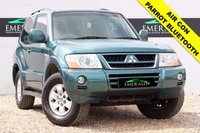 USED 2005 55 MITSUBISHI SHOGUN 3.2 EQUIPPE SWB DI-D 3d 159 BHP **£0 DEPOSIT FINANCE AVAILABLE**SECURE WITH A £99 FULLY REFUNDABLE DEPOSIT** PARROT BLUETOOTH CONNECTION, JVC HEAD UNIT, AIR CONDITIONING, ELECTRIC WINDOWS, PRIVACY GLASS, COMPREHENSIVE SERVICE HISTORY + FULL MOT