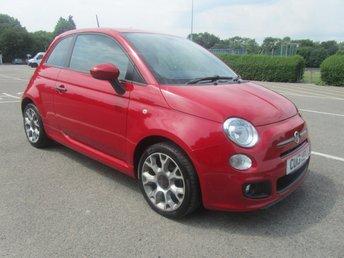 2013 FIAT 500 1.2 S 3d 69 BHP £5491.00