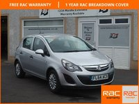 USED 2014 64 VAUXHALL CORSA 1.2 S AC 5d 83 BHP Low Mileage ,Low Insurance ,DDs Function , A/C