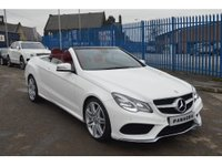 USED 2014 14 MERCEDES-BENZ E CLASS 3.0 E350 CDI BlueTEC AMG Sport Cabriolet 7G-Tronic Plus 2dr *SOLD* GOOD SPECIFICATION+FSH
