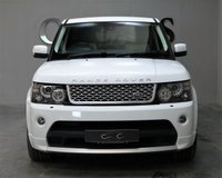 USED 2011 61 LAND ROVER RANGE ROVER SPORT 5.0 V8 AUTOBIOGRAPHY SPORT 5d AUTO 510 BHP AUTOBIOGRAPHY TWO TONE LEATHER