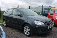 USED 2009 59 VOLKSWAGEN POLO 1.2 MATCH 5d 59 BHP NO DEPOSIT FINANCE AVAILABLE.