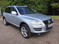 USED 2009 59 VOLKSWAGEN TOUAREG 4.9 V10 SE TDI DIESEL 5d AUTO 309 BHP ONE OWNER FULL SERVICE HISTORY