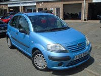 USED 2004 04 CITROEN C3 1.1 DESIRE 5d 60 BHP MOT NOVEMBER-CHEAP TO RUN
