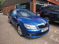 USED 2011 11 SKODA OCTAVIA 2.0 VRS TFSI DSG 5 DOOR AUTOMATIC 198 BHP IN BLUE WITH 61000 MILES APPROVED CARS ARE PLEASED TO OFFER THIS SKODA OCTAVIA 2.0 VRS TFSI DSG 5 DOOR AUTOMATIC 198 BHP IN BLUE WITH 61000 MILES FROM NEW THIS CAR HAS A FULL SERVICE HISTORY SERVICED AT 16K,24K,38K,47K,55K AND 59K THE CAR IS VERY RARE SO IF YOU ARE INTERESTED IN THIS CAR OR WOULD LIKE TO HOLD THIS CAR PLEASE CALL WITH A YOUR  INTEREST ON 01622 871555 AND ASK FOR ONE OF OUR SALES TEAM.