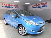 USED 2009 59 FORD FIESTA 1.2 ZETEC 5d 81 BHP Only 48K miles! Bluetooth ! Air conditioning