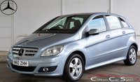2011 MERCEDES-BENZ B CLASS B160 SE 5 DOOR AUTO 95 BHP £SOLD