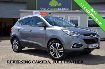 2014 HYUNDAI IX35 1.7 PREMIUM CRDI *REVERSING CAMERA, LEATHER, HEATED SEATS*  £12750.00